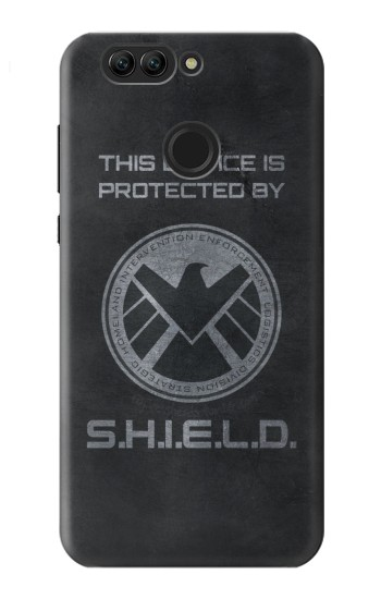 Printed This Device is Protected by Shield Huawei nova 2 Case