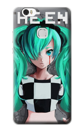 Printed hatsune miku The End Huawei Ascend G630 Case