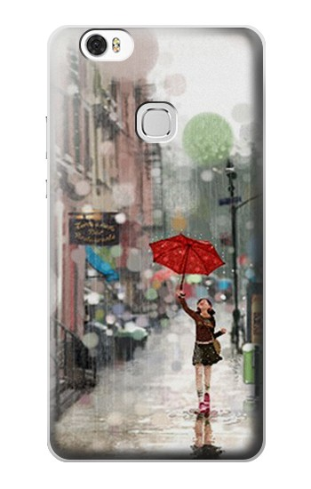 Printed Girl in The Rain Huawei Ascend G630 Case