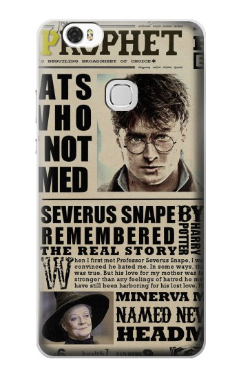 Printed Harry Potter Daily Prophet Huawei Ascend G630 Case