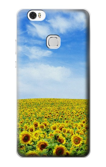 Printed Sunflower Huawei Ascend G630 Case