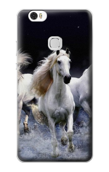 Printed White Horse Huawei Ascend G630 Case