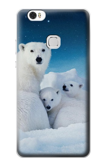 Printed Polar Bear Family Arctic Huawei Ascend G630 Case