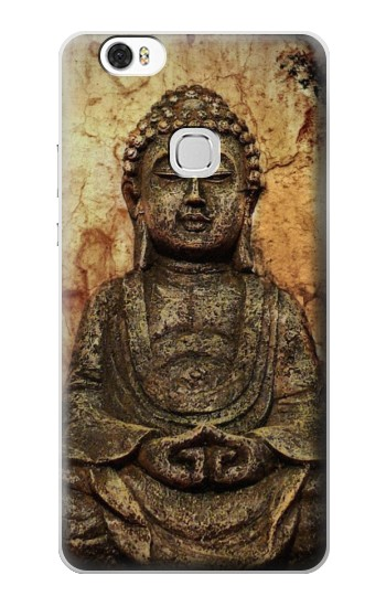 Printed Buddha Rock Carving Huawei Ascend G630 Case
