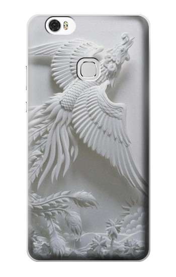 Printed Phoenix Carving Huawei Ascend G630 Case