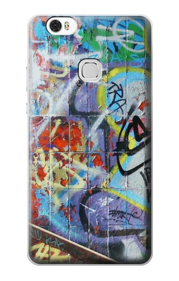 Printed Wall Graffiti Huawei Ascend G630 Case
