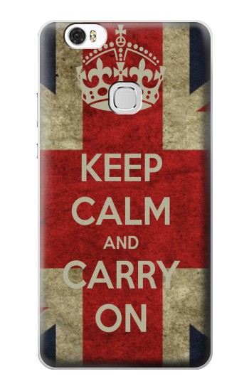 Printed Keep Calm and Carry On Huawei Ascend G630 Case