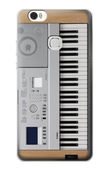 Printed Keyboard Digital Piano Huawei Ascend G630 Case