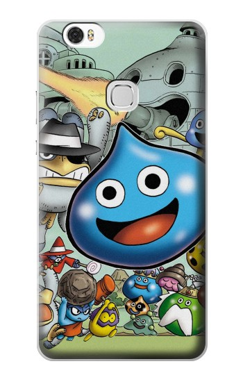Printed Dragon Quest Slime Monster Huawei Ascend G630 Case