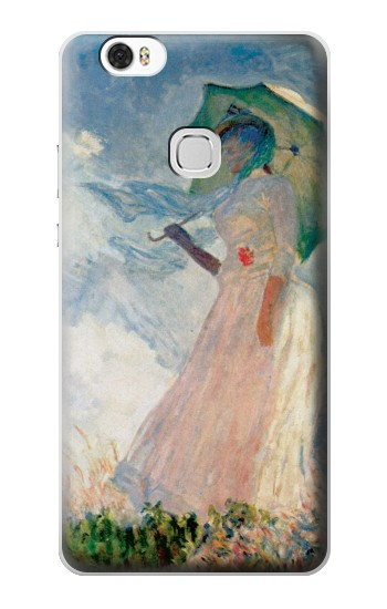 Printed Claude Monet Woman with a Parasol Huawei Ascend G630 Case