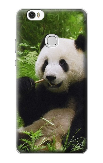 Printed Panda Enjoy Eating Huawei Ascend G630 Case
