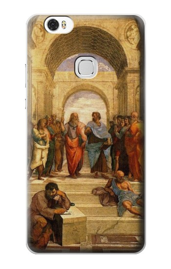 Printed Raphael School of Athens Huawei Ascend G630 Case