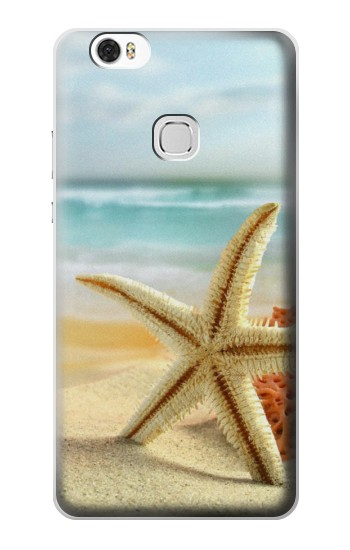 Printed Starfish on the Beach Huawei Ascend G630 Case