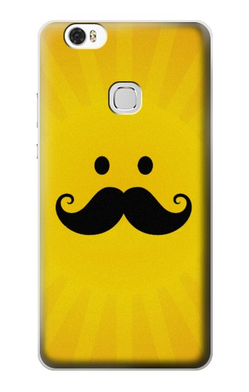 Printed Yellow Mustache Sun Huawei Ascend G630 Case