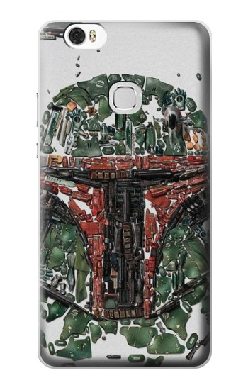 Printed Star War Soldier Huawei Ascend G630 Case
