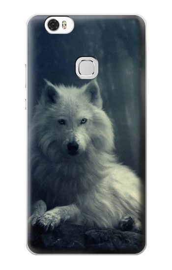 Printed White Wolf Huawei Ascend G630 Case