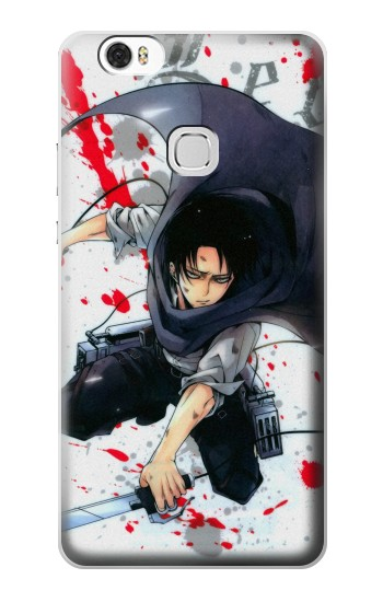 Printed Attack on Titan Rivaille Levi Huawei Ascend G630 Case