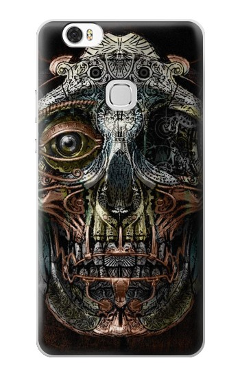 Printed Steampunk Skull Head Huawei Ascend G630 Case
