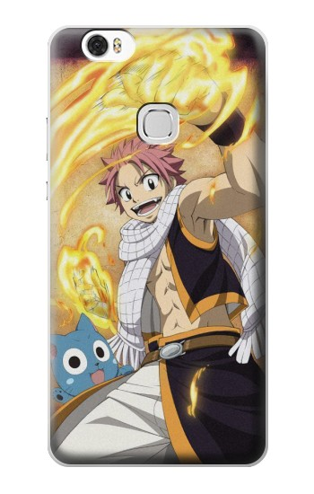 Printed Fairy Tail Natsu Happy Huawei Ascend G630 Case