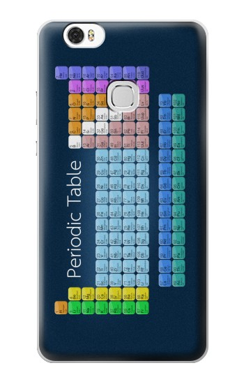 Printed Periodic Table Huawei Ascend G630 Case