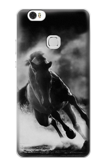 Printed Running Horse Huawei Ascend G630 Case
