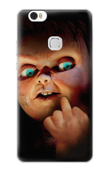 Printed Chucky Middle Finger Huawei Ascend G630 Case