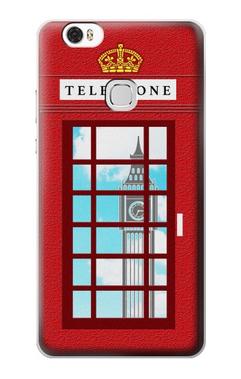 Printed England Classic British Telephone Box Minimalist Huawei Ascend G630 Case
