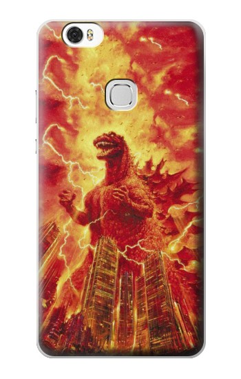 Printed Godzilla The Legend Is Reborn Huawei Ascend G630 Case