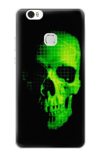 Printed Green Skull Huawei Ascend G630 Case
