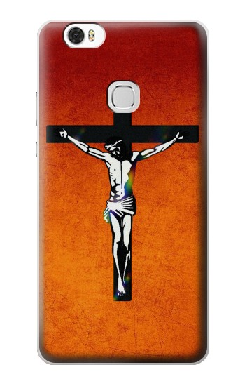 Printed Jesus Christ On The Cross Huawei Ascend G630 Case