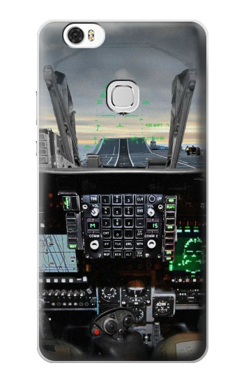 Printed Fighter Jet Aircraft Cockpit Huawei Ascend G630 Case