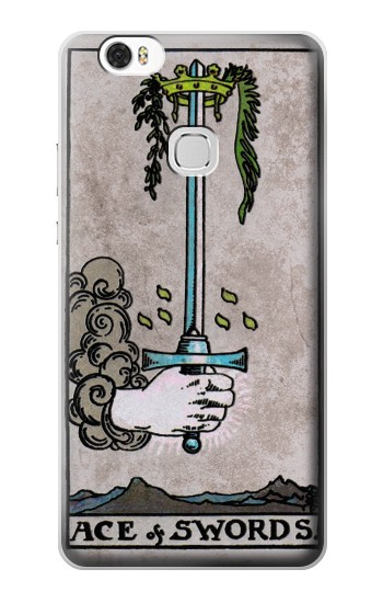 Printed Tarot Ace of Swords Huawei Ascend G630 Case