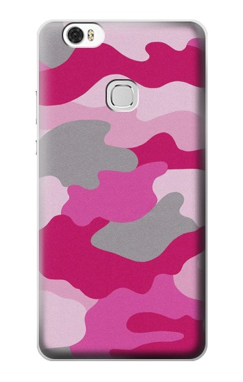 Printed Pink Camouflage Huawei Ascend G630 Case
