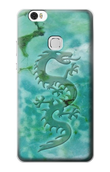 Printed Chinese Dragon Green Turquoise Stone Huawei Ascend G630 Case