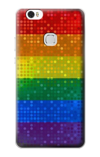 Printed Rainbow Gay LGBT Pride Flag Huawei Ascend G630 Case