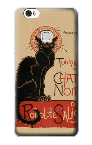 Printed Chat Noir The Black Cat Huawei Ascend G630 Case