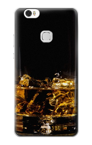 Printed Ice Whiskey Glass Huawei Ascend G630 Case