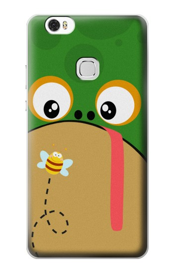 Printed Frog Bee Cartoon Huawei Ascend G630 Case