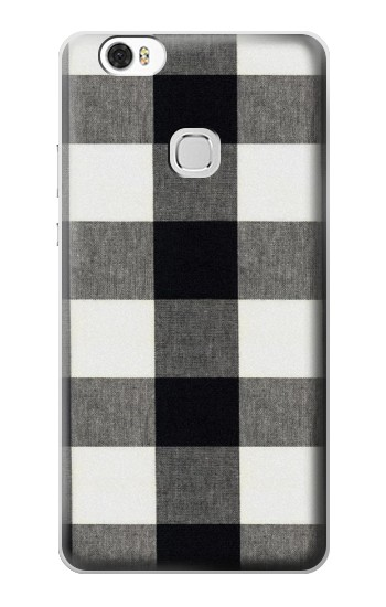 Printed Black and White Buffalo Check Pattern Huawei Ascend G630 Case