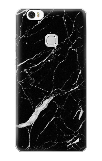 Printed Black Marble Graphic Printed Huawei Ascend G630 Case