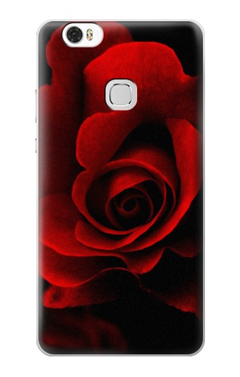 Printed Red Rose Huawei Ascend G630 Case