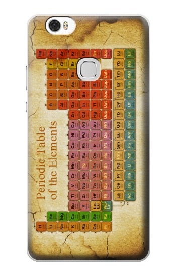 Printed Vintage Periodic Table of Elements Huawei Ascend G630 Case