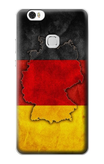 Printed Germany Flag Map Huawei Ascend G630 Case