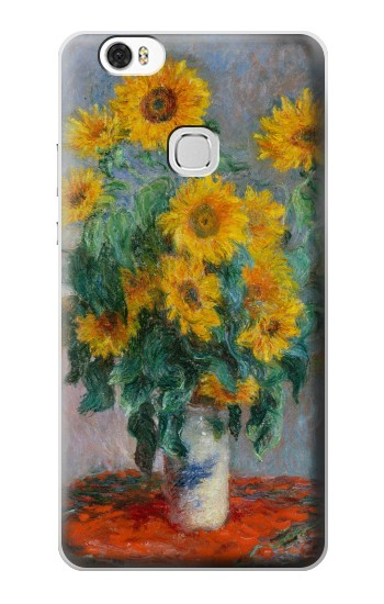 Printed Claude Monet Bouquet of Sunflowers Huawei Ascend G630 Case