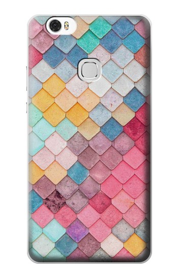 Printed Candy Minimal Pastel Colors Huawei Ascend G630 Case