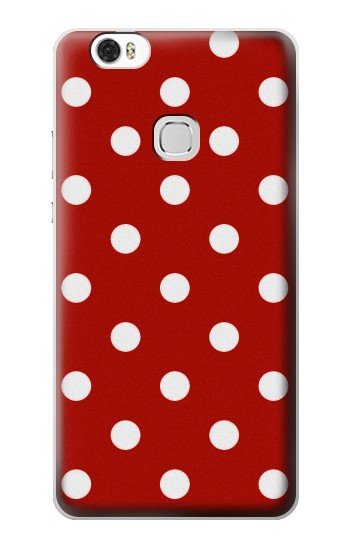 Printed Red Polka Dots Huawei Ascend G630 Case