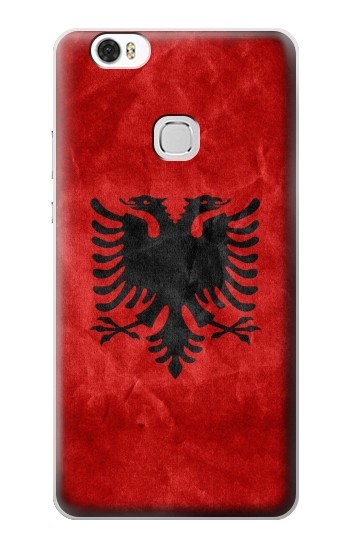 Printed Albania Red Flag Huawei Ascend G630 Case