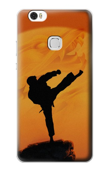 Printed Kung Fu Karate Fighter Huawei Ascend G630 Case
