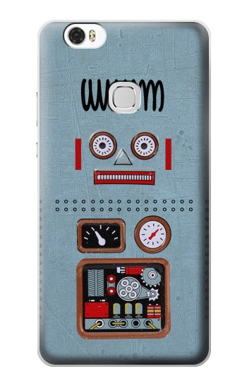 Printed Retro Robot Toy Huawei Ascend G630 Case