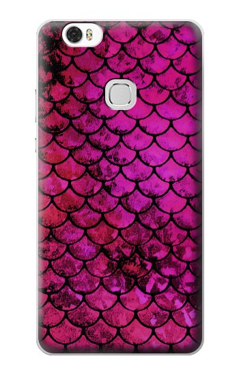 Printed Pink Mermaid Fish Scale Huawei Ascend G630 Case